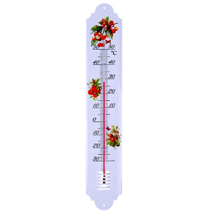 Metal Garden Thermometer