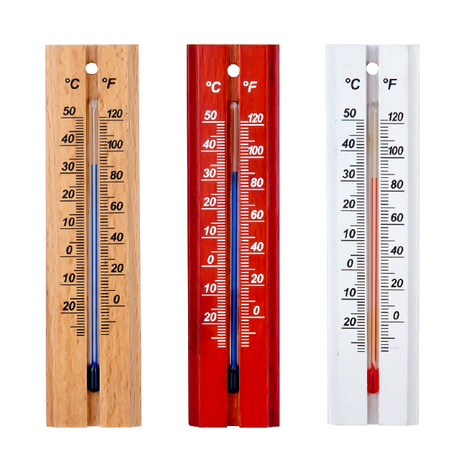 Wooden Thermometer
